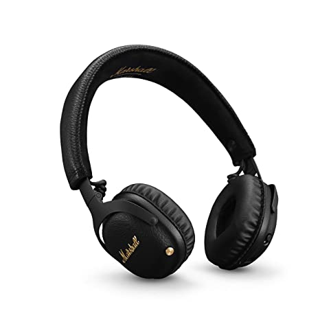 Marshall Mid A.N.C. Cuffie Active Noise Cancelling Bluetooth Headphones -  Nero 9879fcaa836ed