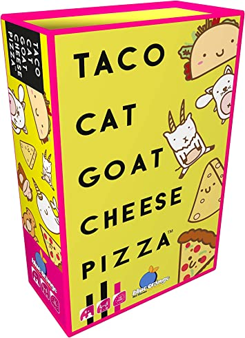 Taco Cat Goat Cheese Pizza Family Party Card Game Board Kids Adults Bday Gift