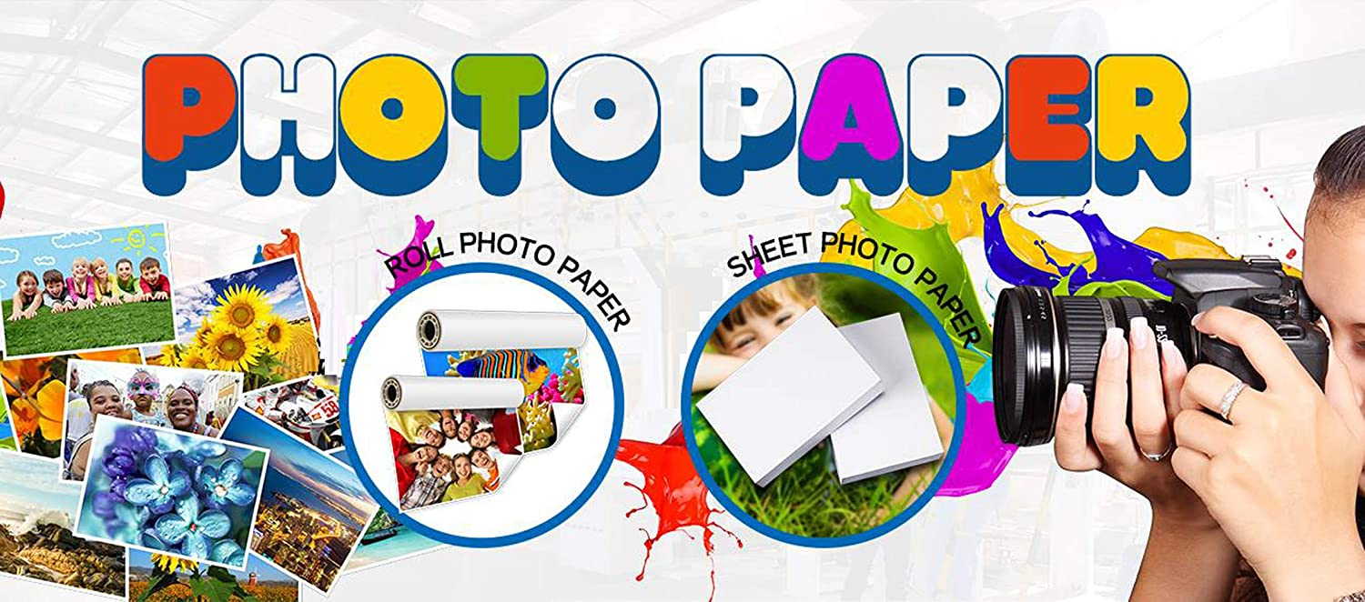 Premium Double Side Matte Inkjet Photo Paper 8.3x11.6 A4 Size 50 Sheets Weight 180gsm