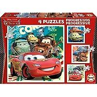Educa - Cars 2 Conjunto de Puzzles, Multicolor (14942)