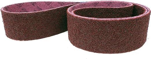40/x 760/mm chacune un ruban de CRS grains A Lot de 4/bandes abrasives Premium Lot de 3/m Scotch-Brite Bande non tiss/ée//SC-BS pour Bosch Professional GRB 14/CE ou autres Tuyau Ponceuse /à bande P A-Med A de ex