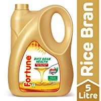 Fortune Rice Bran Health Oil, 5L Jar