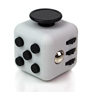 Fidget Cube by Summit One, 6-Action Fidget Dice Sensory Toy to Improve Focus and Relieve Stress - For Kids and Adults, For ADHD, Autism and Anxiety Disorders (3.3cm)