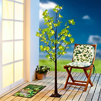Led deko baum affordable leddekobaum battery tree for Deko baum garten