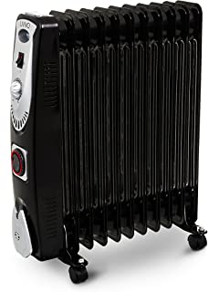 12e77c96c4c LIVIVO Black Oil Filled Radiator – Portable Electric Heater with Adjustable  Temperature Control with Safety Cut