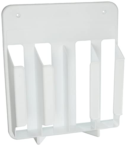 Superbe Rubbermaid Cabinet Door Mounted Kitchen Wrap And Bag Organizer Storage Rack  (FG2310RDWHT)