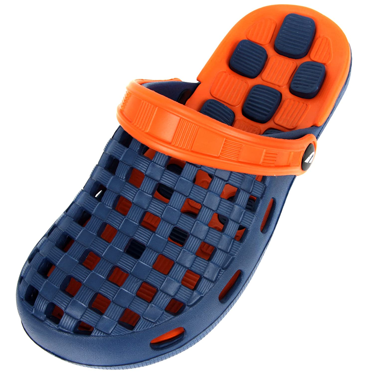 Men's Light Weight Comfortable Casual Athletic Water Slide Beach Aqua Shoes