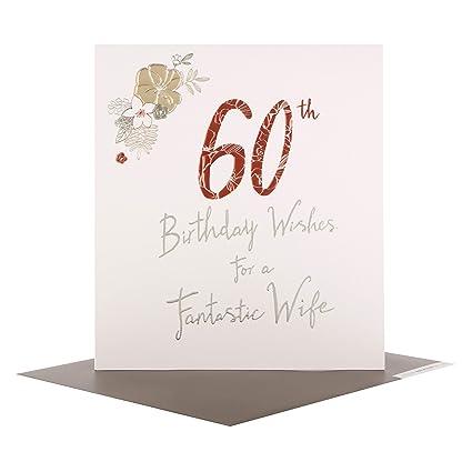 Hallmark - Tarjeta de felicitación de 60 cumpleaños para ...