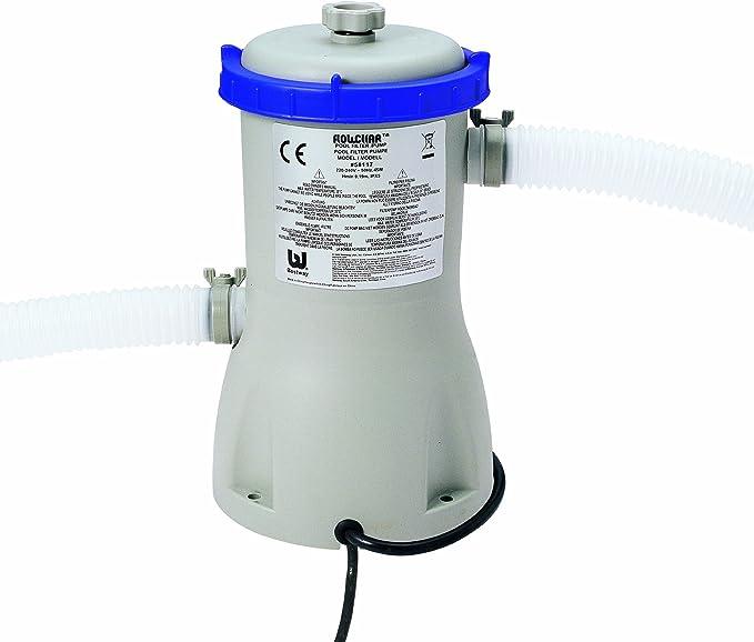 Bestway 8320527 Depuradora Piscina 3,028 litros/Hora (Filtro II): Amazon.es: Deportes y aire libre