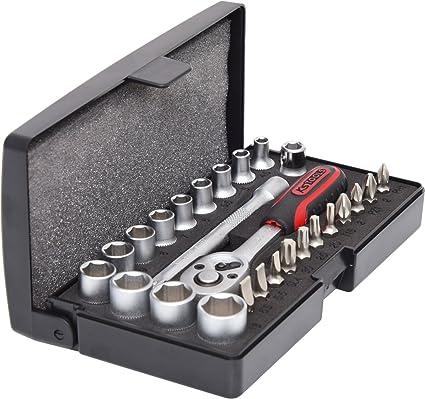 200mm CL/ÁSICO alicate de nariz doblada KS Tools 115.1319