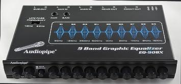 Nippon Eq908x 9 Band Parametric Graphic Car Audio Equalizer Eq Eq
