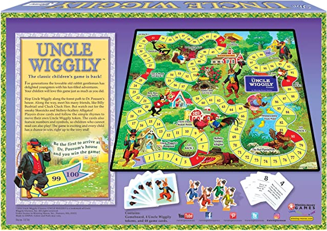 Amazon Com Winning Moves Games Uncle Wiggly Game 1134 Toys Games