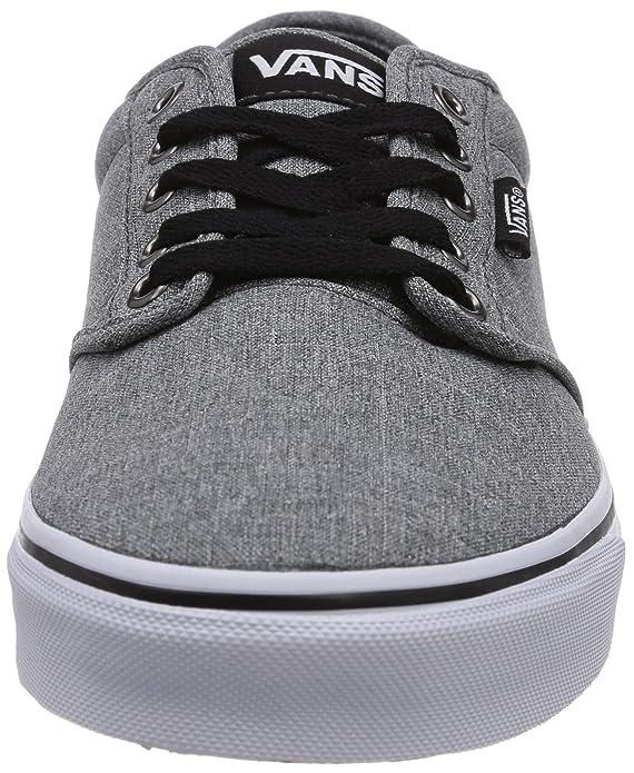 d53c460175c914 Vans Men s Atwood (Grindle) Pewter Black Skate Shoe 13 Men US  Amazon.ca   Shoes   Handbags