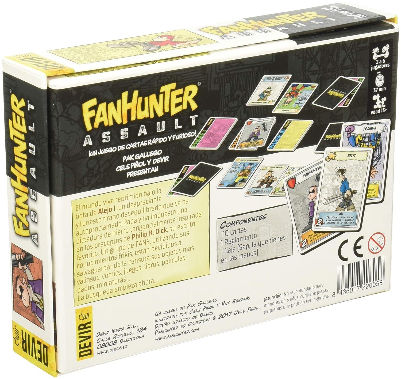 Amazon.com: Devir Iberia – fanhunter Assault, Single (226058 ...