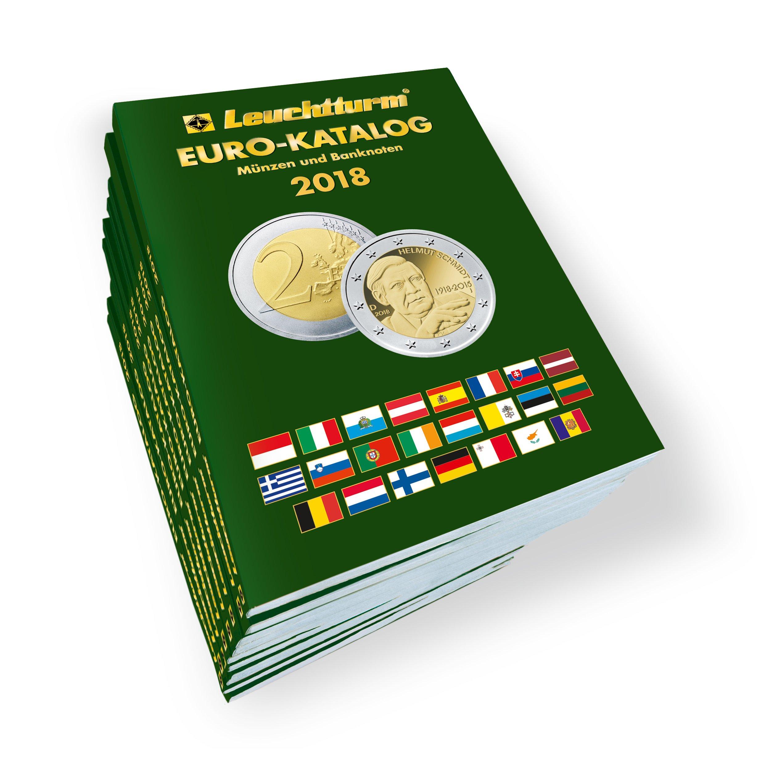 Euro Katalog 2018 Münzen Und Banknoten Leuchtturm Albenverlag