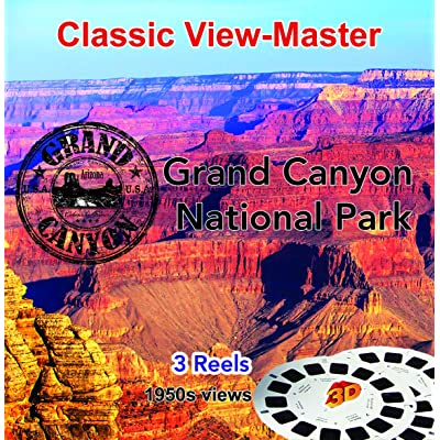 3 ViewMaster Classic Vintage 3D Reels - Grand Canyon National Park, Arizona: Toys & Games