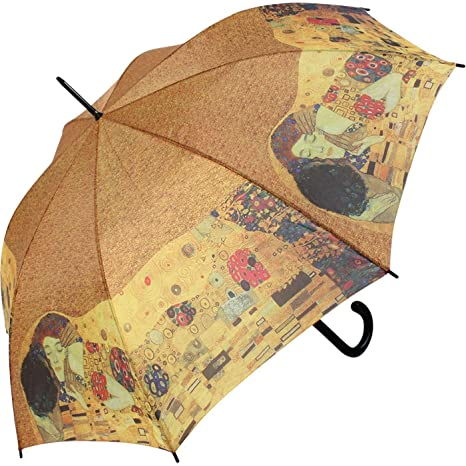 Paraguas El Beso de Gustav Klimt