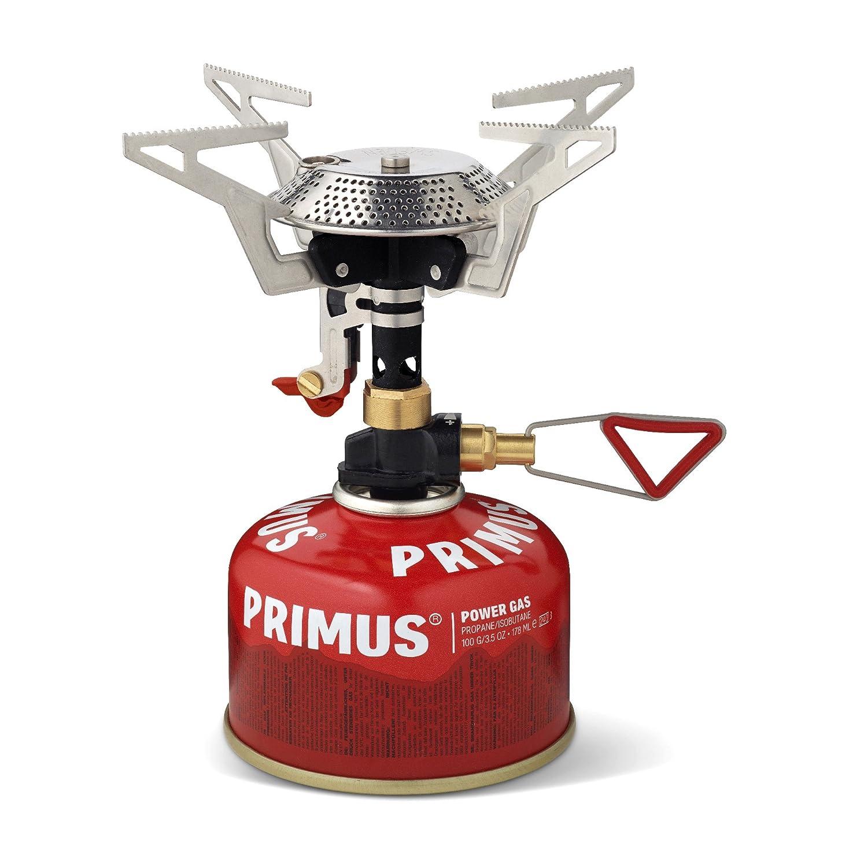 Primus Kocher Powertrail mit Piezozündung und Regulierung - Campingkocher