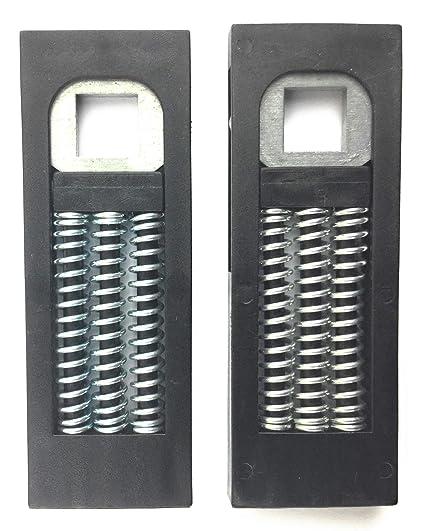HD Hardware manija de puerta resorte Cassettes para puertas Upvc (par)