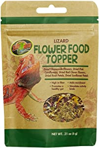 Zoo Med Flower Food Topper - Lizard - 0.21 oz