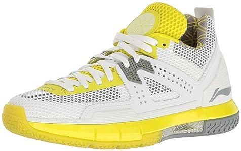 Way Of Wade Men's Wow 5 White Volt Basketball Shoe