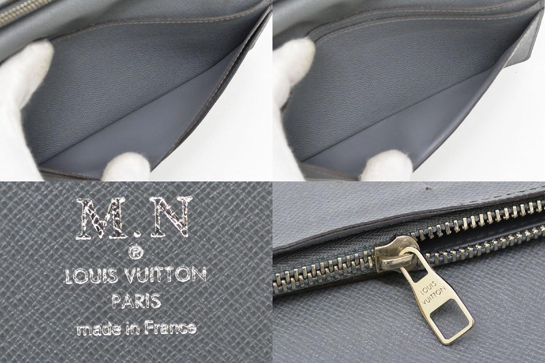 1a4a4358b78e Amazon | ルイヴィトン LOUIS VUITTON ポルトフォイユ ブラザ タイガ レザー 二つ折 長財布 グラシエ グレー M32653  中古 | LOUIS VUITTON(ルイヴィトン) | 財布