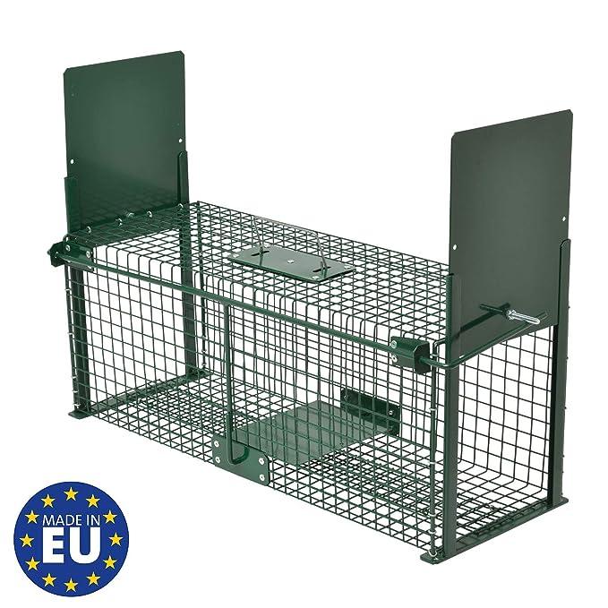 Moorland Safe 5067 - Trampa para Animales Vivos - 61 x 21 x 23cm ...