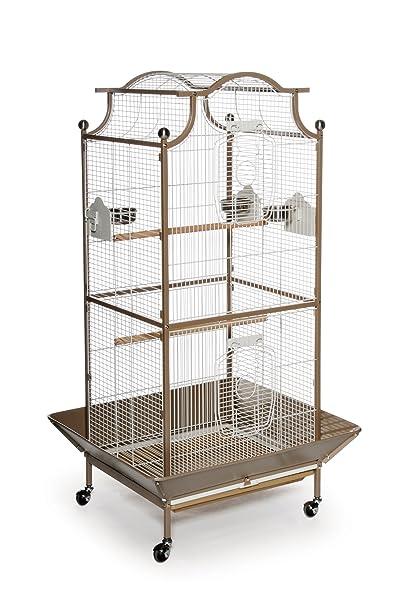 30f9826395ba2 Prevue Pet Products Pagoda Cockatiel Cage, Coco and Cream