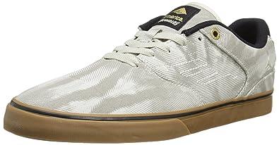 Emerica The Reynolds Low Vulc - Zapatos para Hombre, Color Tan/Gum, Talla 41