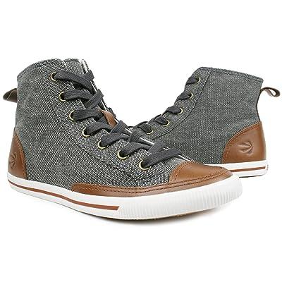 Burnetie Men's High Top Vintage Sneaker | Fashion Sneakers