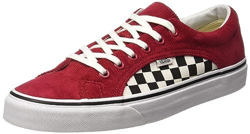 e2012a3bb247ec Vans - Trainers - UA Lampin (Checker Cord) - Red True White ...