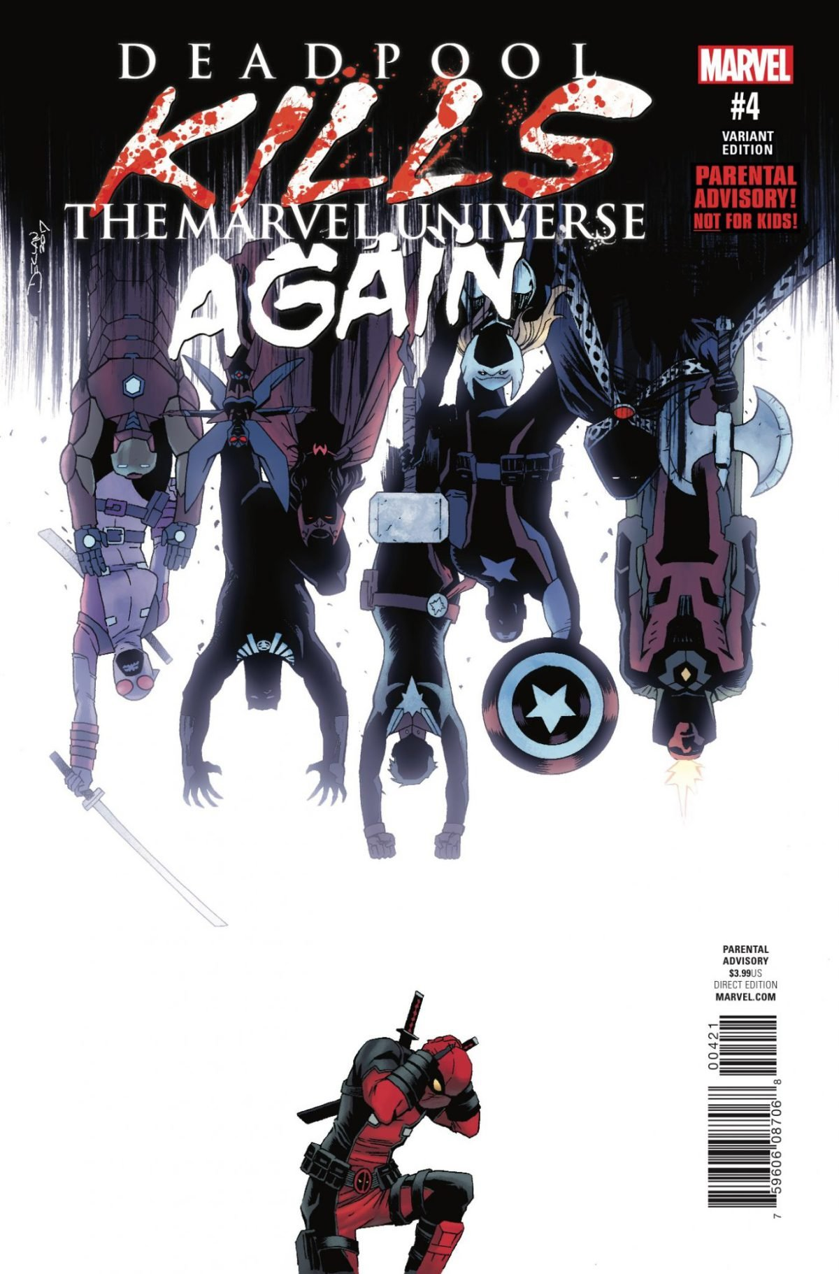 Download Deadpool Kills the Marvel Universe Again (Issue #4 -Variant Cover by Declan Shalvey) pdf