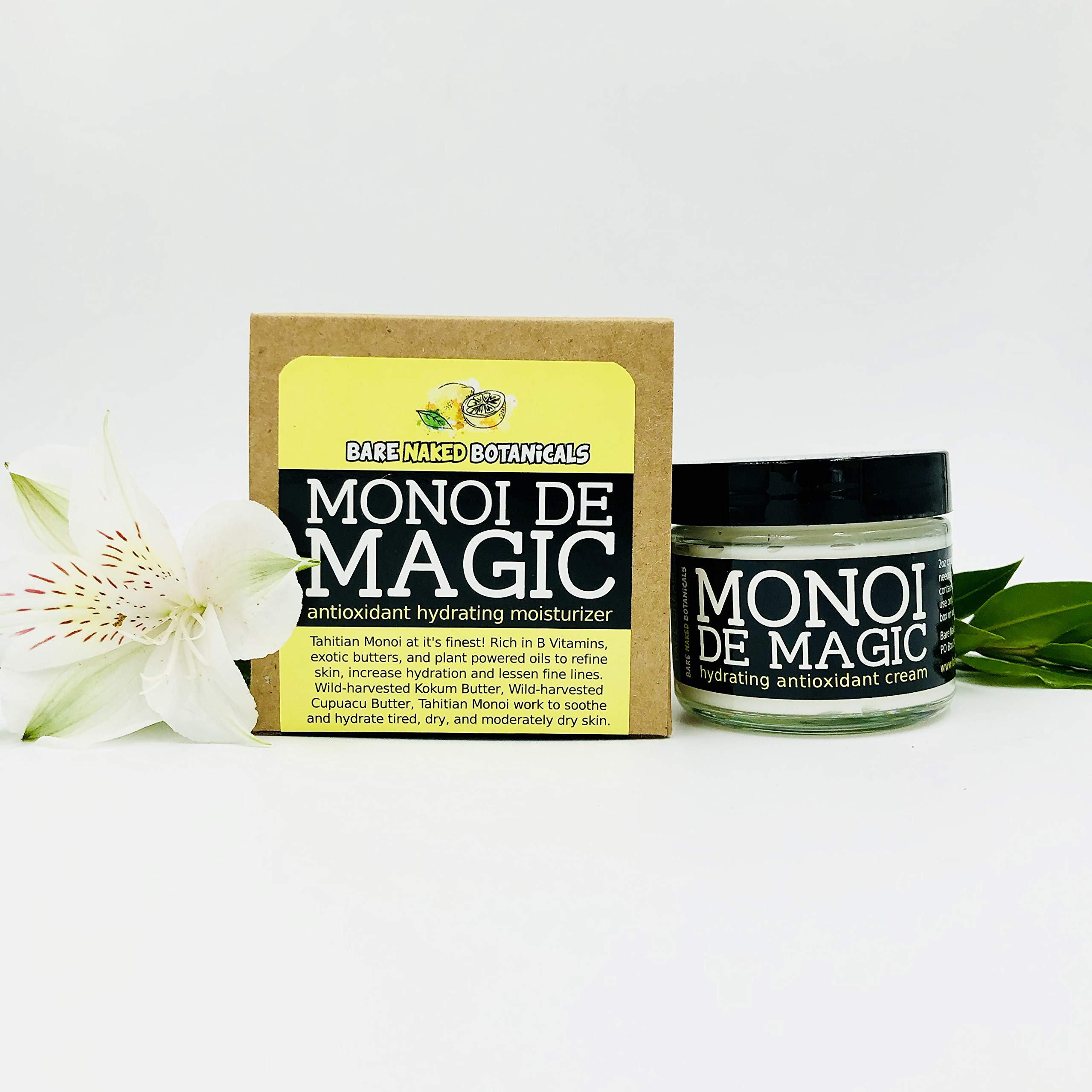 Monoi De Magic Vegan Hydrating Facial Cream by Bare Naked Botanicals