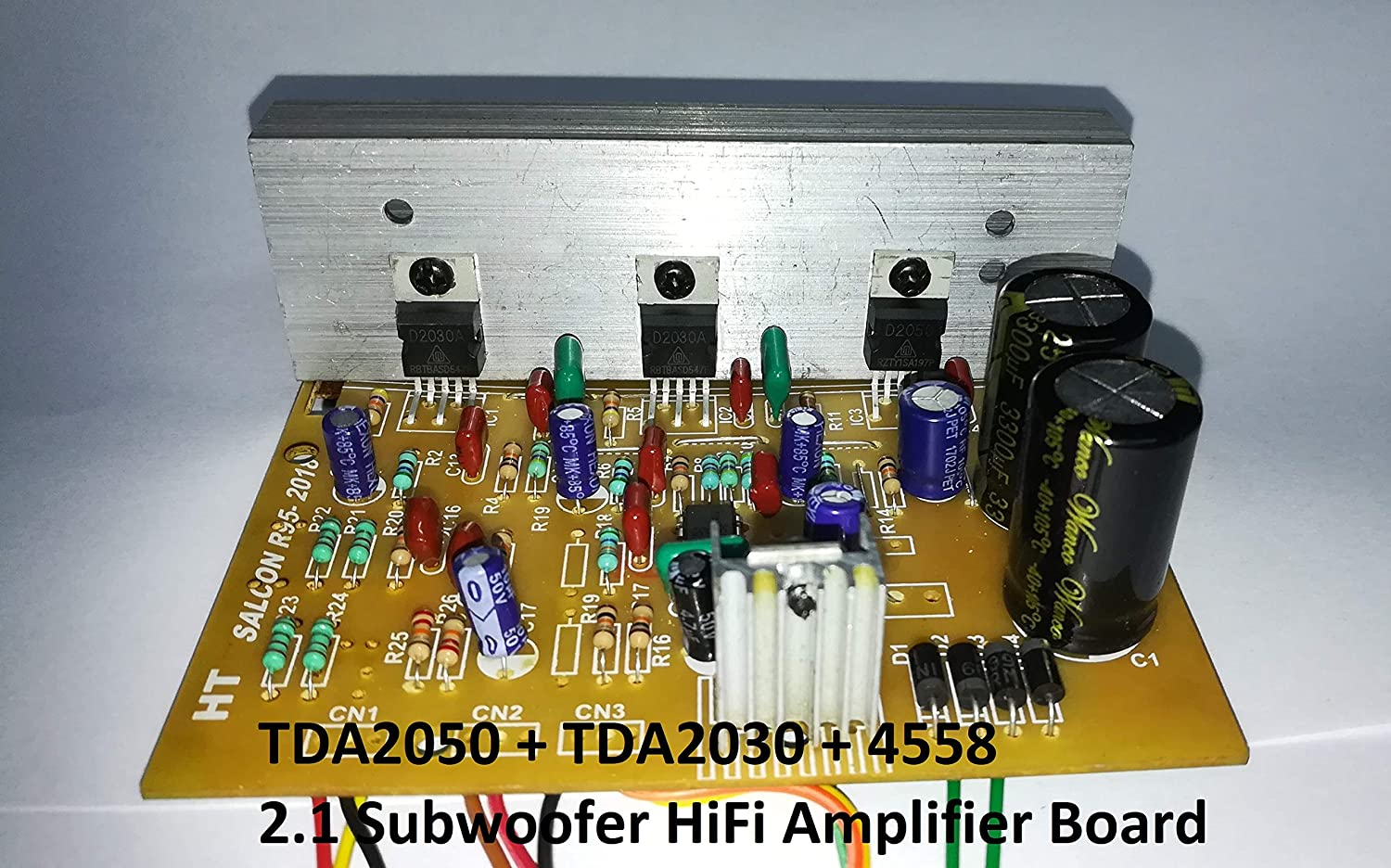 Tda2030a Stereo Amplifier Kit Circuit Diagram