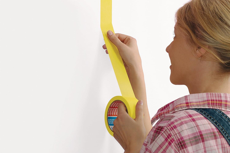 25/mm/x/25/m Gelb Tesa Precision Malerband f/ür Innenbereiche