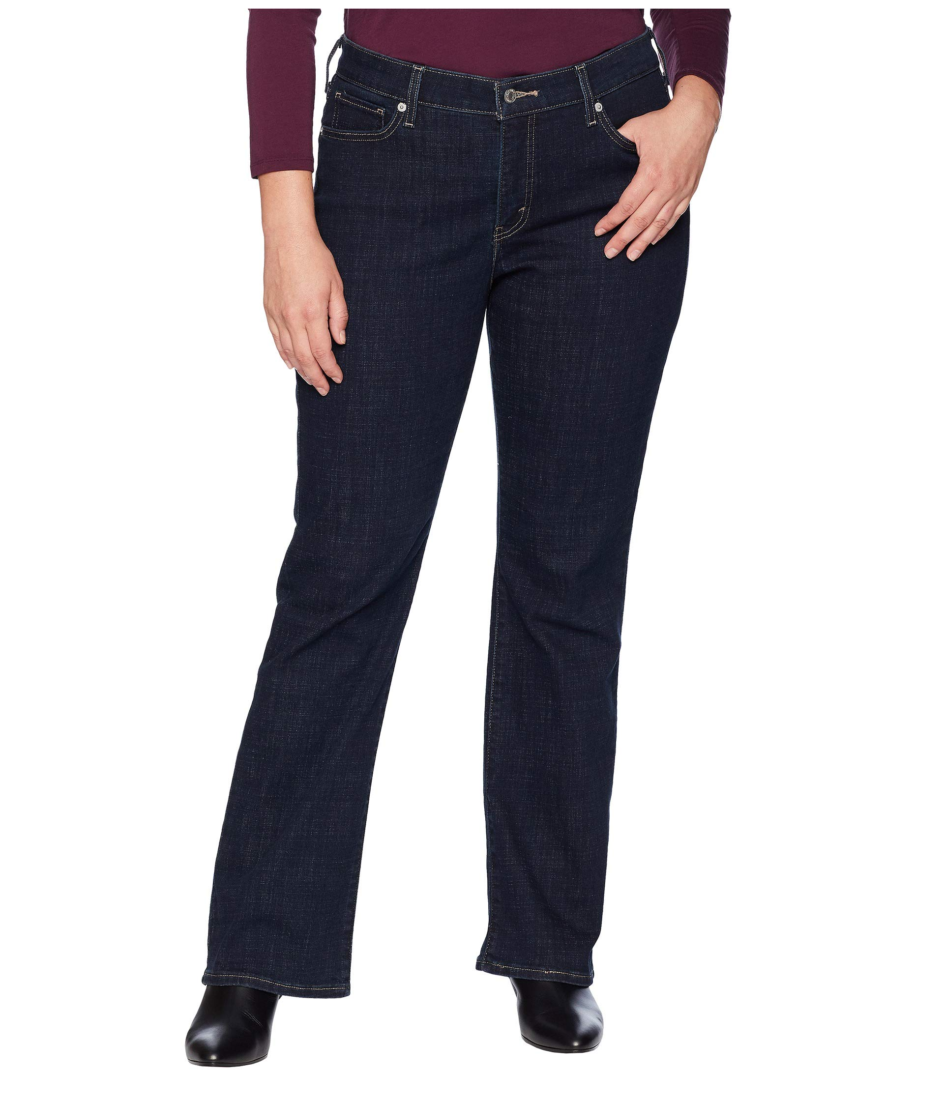Levi's Women's Plus-Size 415 Classic Bootcut Jeans, Island Rinse, 38 (US 18) S