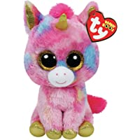 TY Beanie Boo Plush - Fantasia the Unicorn 15cm, Pink