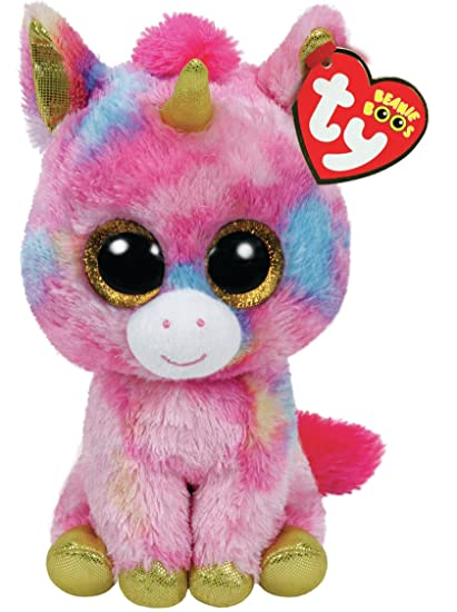 Image Unavailable. Image not available for. Color  Ty Beanie Boo Plush -  Fantasia The Unicorn 15cm a1bf4f8d65c