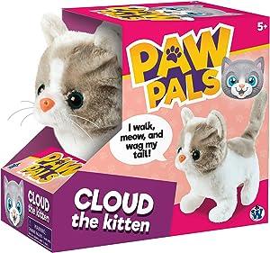 Westminster Cloud The Mechanical Kitten - Gray/White