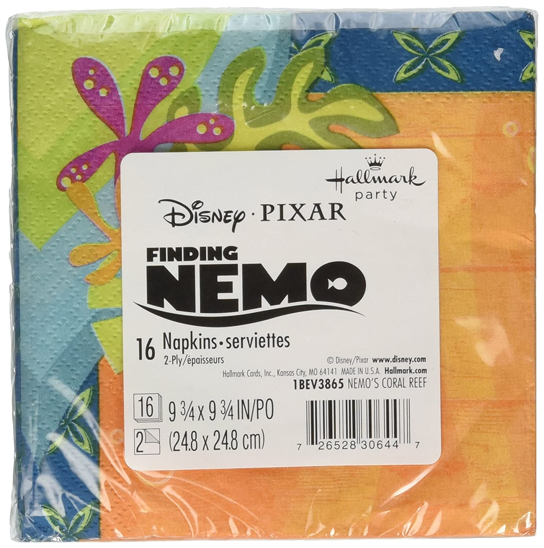 Disney Nemo's Coral Reef Beverage Napkins ディズニーニモのサンゴ礁飲料ナプキンハロウィンクリスマス B008ELNY78