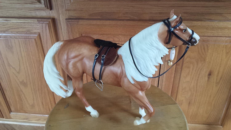 Breyer custom english saddle set