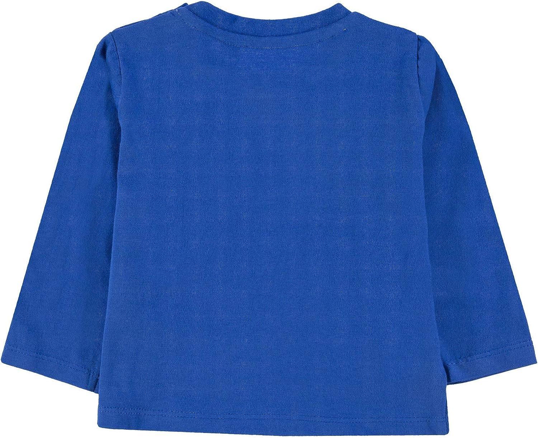 Turkis Sky-Blue 3398 Herstellergr/ö/ße: 80 TOM TAILOR Kids Baby-Jungen Placed Print T-Shirt Blau ,