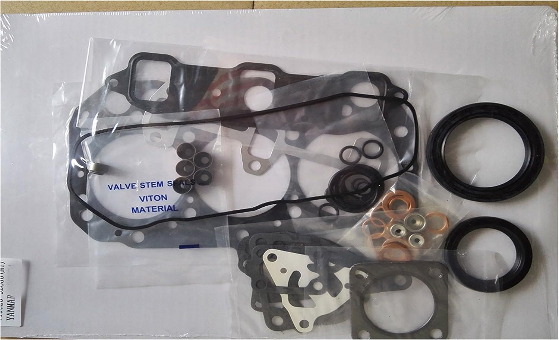 Pour YANMAR 3TN74 3TNE74 3D74E kit de joint de culasse complet