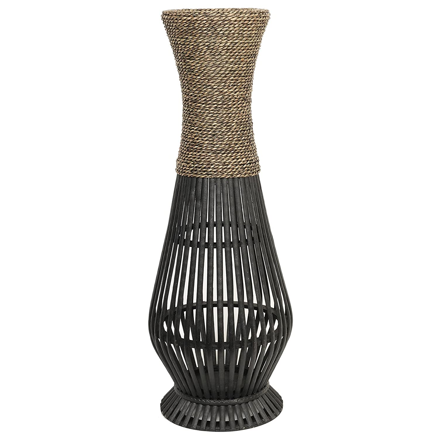 Amazon Hosley s Bamboo Wood Tall floor Vase Ideal Gift for