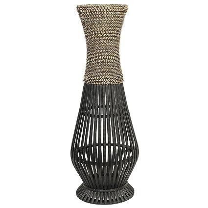Amazon Hosley Tall Bamboo Wood Floor Vase 26 High Ideal Gift