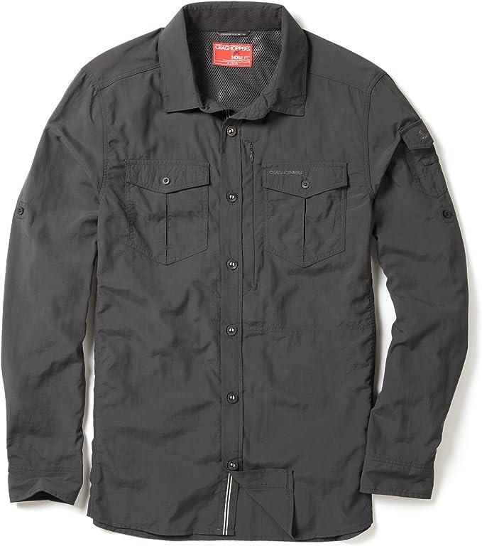 Craghoppers Mens NosiLife Proli Long Sleeve Shirt