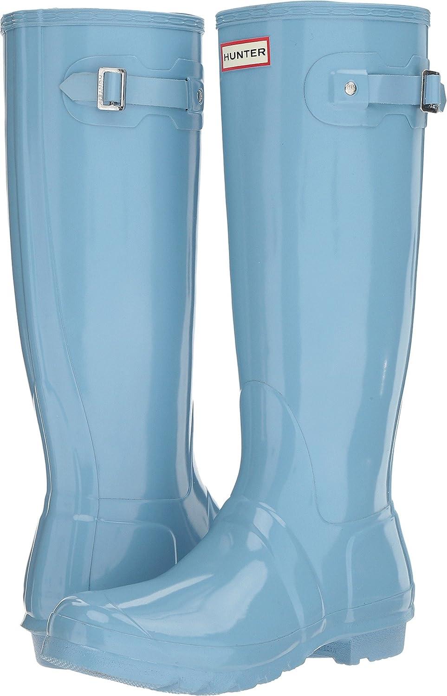 Hunter Women's Original Tall Rain Boot B01NBR56QG 5 B(M) US|Pale Blue