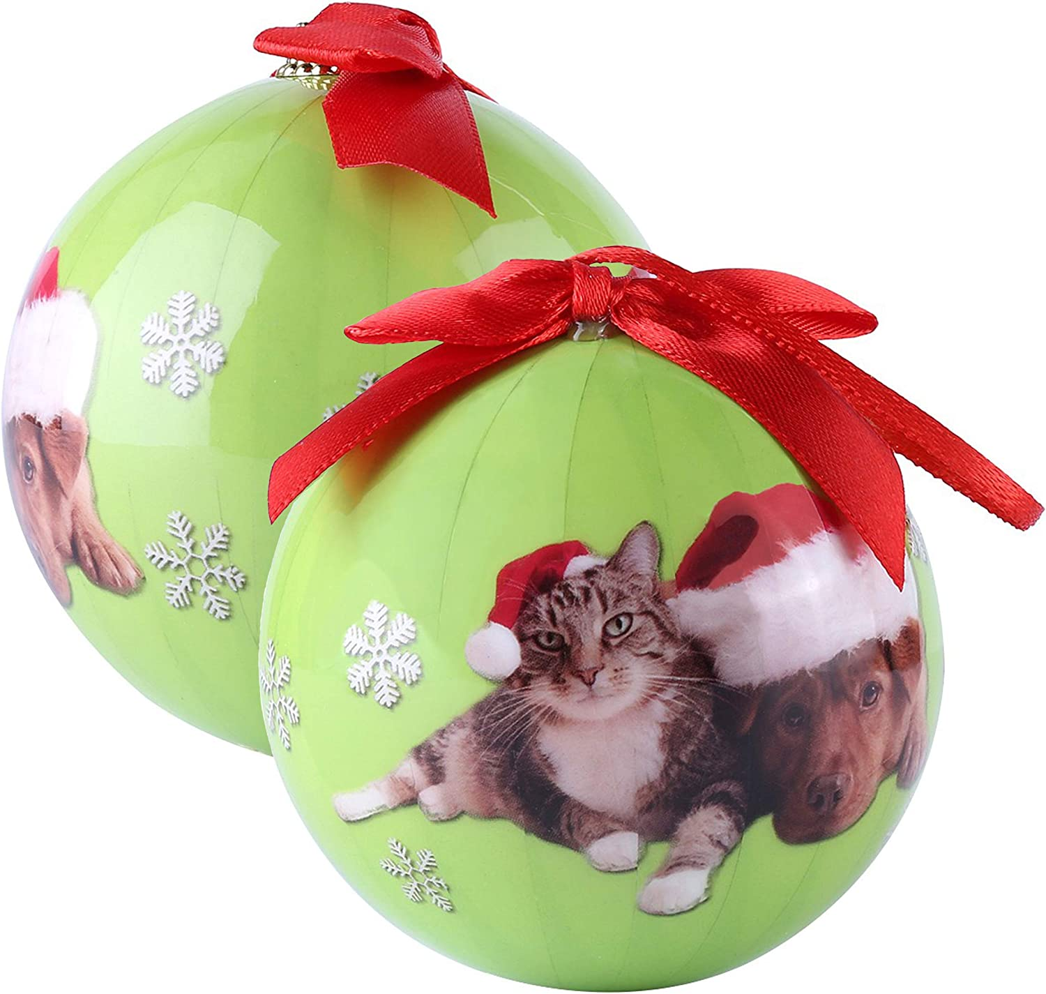 Amazon Com Best Price Center Holiday Season Christmas Tree Cat And Dachshund Ornament Pet Collection Home Kitchen