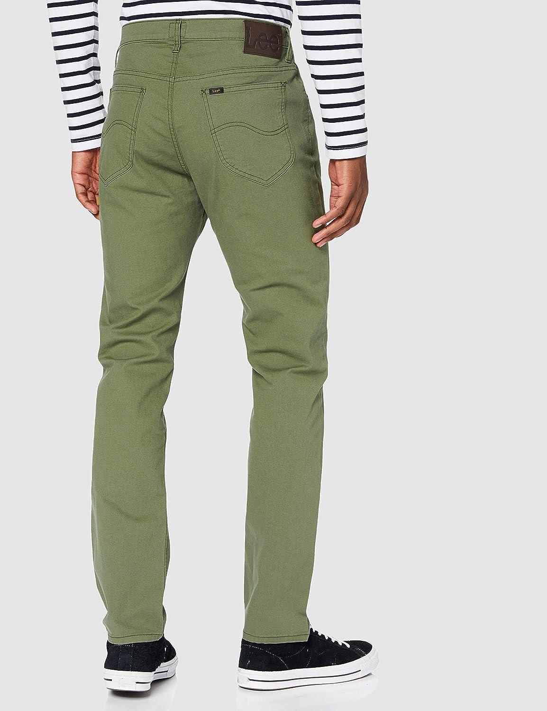 Lee Rider Contrast Jeans voor heren Lichen Groen