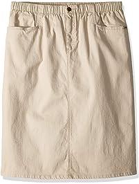 cdbbe59ba1c Chic Classic Collection Women s Plus Size L-Pocket Skirt Stretch Denim